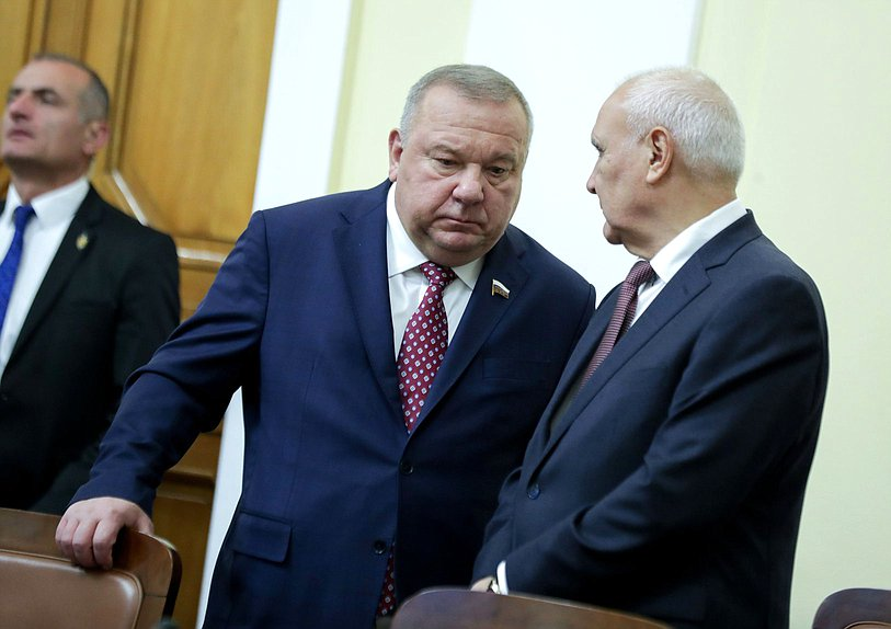 Chairman of the Committee on Defence Vladimir Shamanov