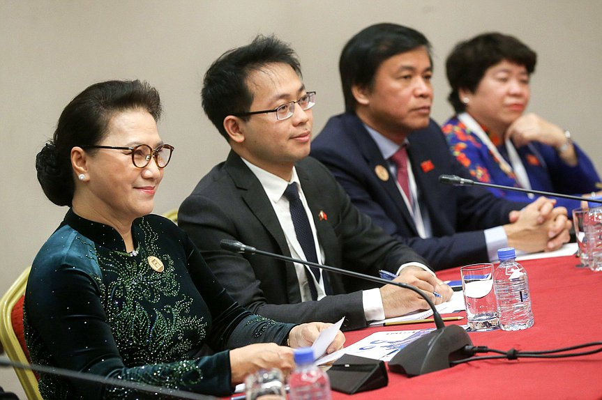 Chairwoman of the National Assembly of the Socialist Republic of Vietnam Nguyễn Thị Kim Ngân