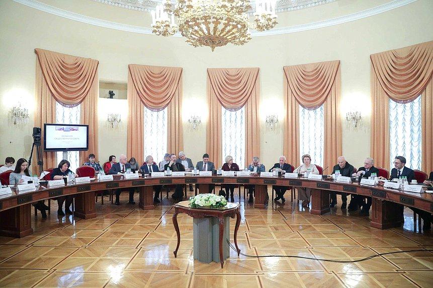 Заседание Общественного совета при Комитете покультуре