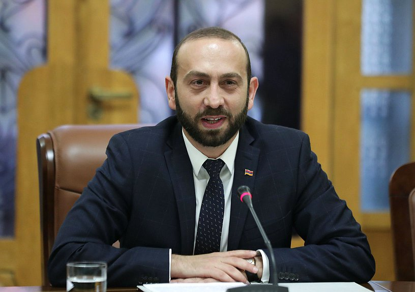 President of the National Assembly of the Republic of Armenia Ararat Mirzoyan