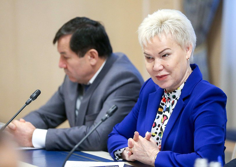 Member of the Committee on Physical Culture, Sport and Youth Affairs Rima Batalova