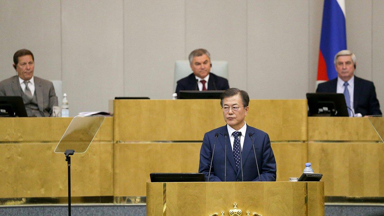 Президент Республики Корея Мун Чжэ Ин