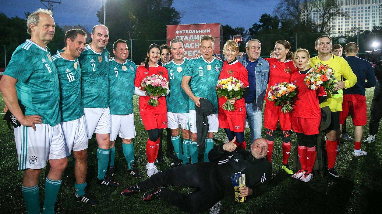 Гимн немецкой футбольной команды