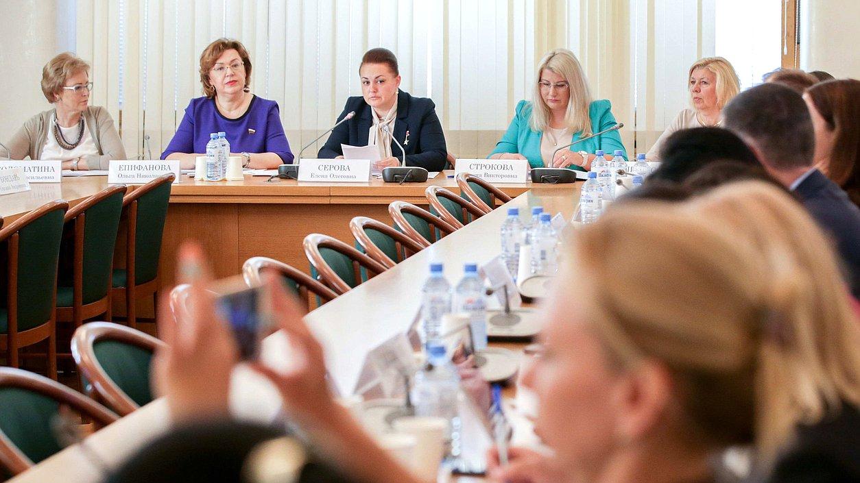 Рабочая встреча Женского клуба Государственной Думы сженским предпринимательским сообществом