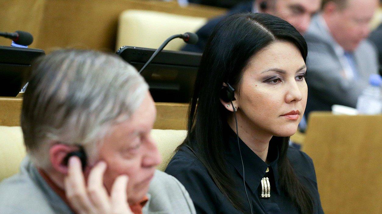 Член Комитета помеждународным делам Инга Юмашева