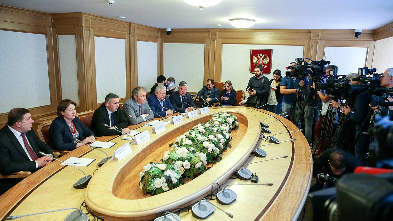 Meeting of the informal Russia-Georgia inter-parliamentary dialogue group