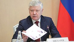 Chairman of the Committee on Security and Corruption Control Vasilii Piskarev