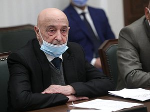 President of the House of Representatives of Libya Aguila Saleh
