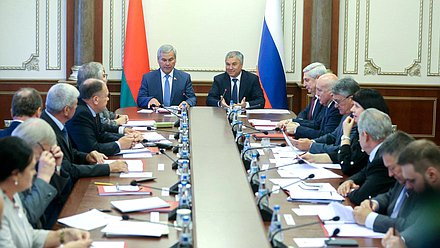 Meeting of the Council of the Parliamentary Assembly of the Union of Belarus and Russia