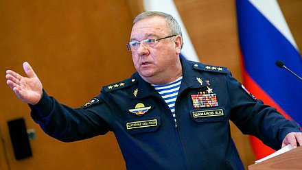 Chairman of the Committee on Defense Vladimir Shamanov