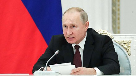 President of the Russian Federation Vladimir Putin