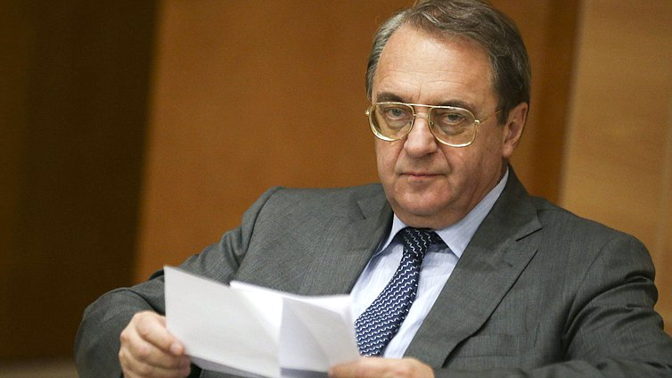 Deputy Foreign Minister of the Russian Federation Mikhail Bogdanov
