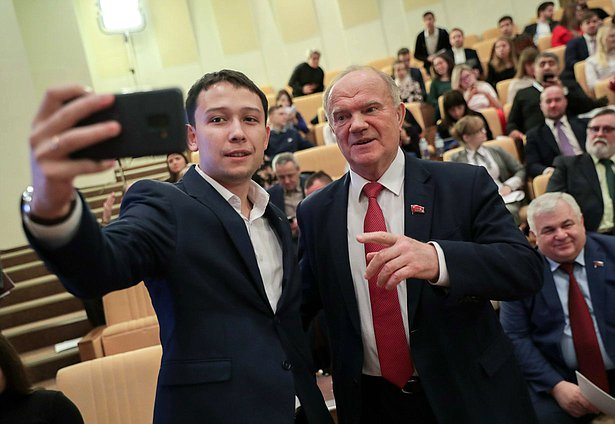 Leader of CPRF faction Gennady Zyuganov