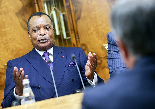 President of the Republic of the Congo Denis Sassou Nguesso