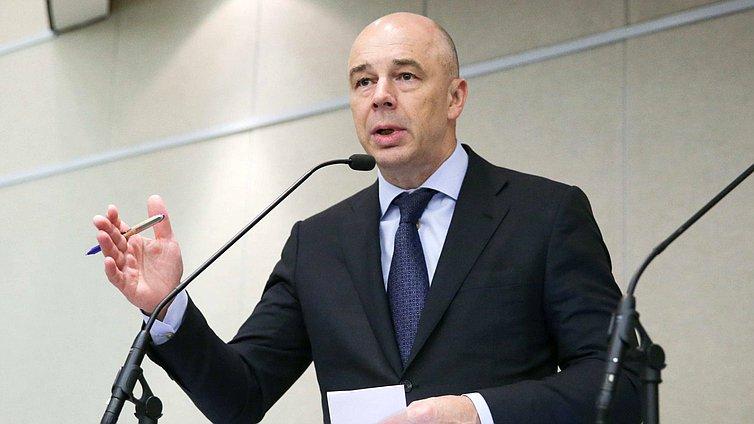 Первый вице-премьер иМинистр финансов РФ Антон Силуанов
