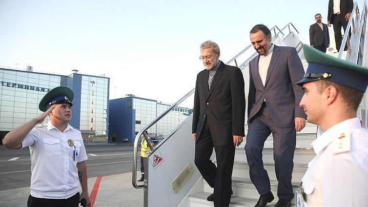 Chairman of the Islamic Consultative Assembly of the Islamic Republic of Iran Ali Larijani