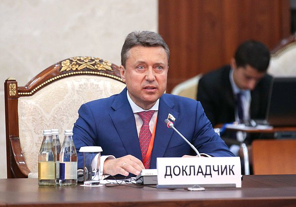 Member of the Committee on Security and Corruption Control Anatolii Vybornyi