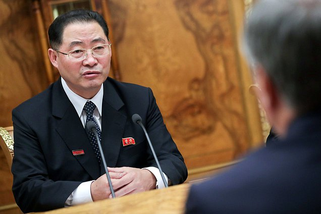 Chairman of the Supreme People's Assembly of the DPRK Pak Thae-song