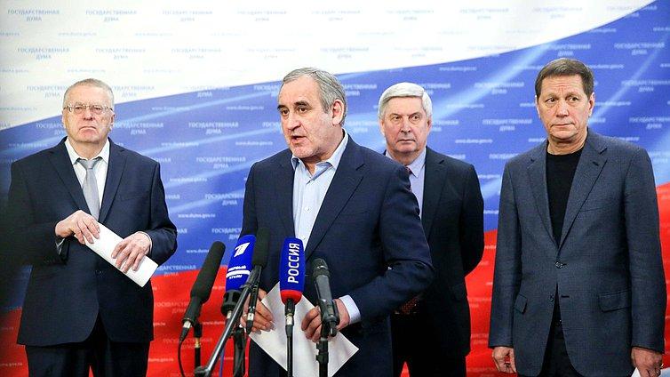 Руководитель фракции «Единая Россия» Сергей Неверов