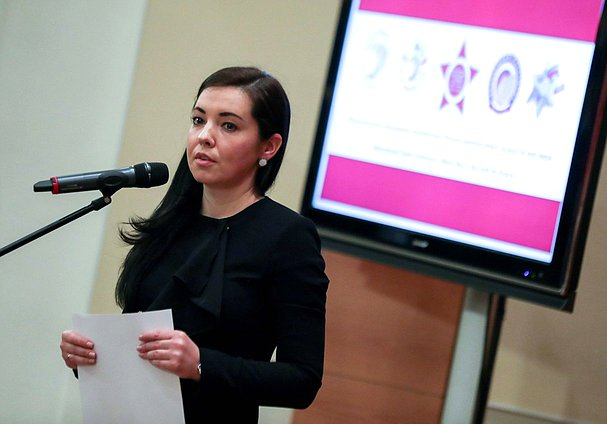 Chairwoman of the Youth Parliament under the State Duma Maria Voropayeva