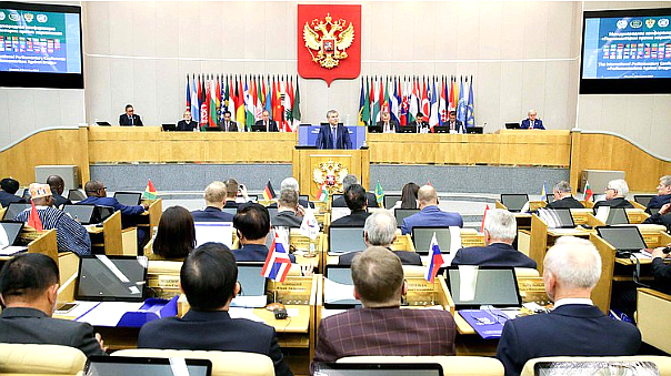 "Viacheslav Volodin's speech at plenary session of the International Conference ""Parliamentarians against Drugs"""