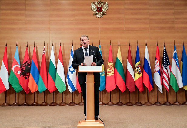 Deputy Chairman of the State Duma Petr Tolstoy