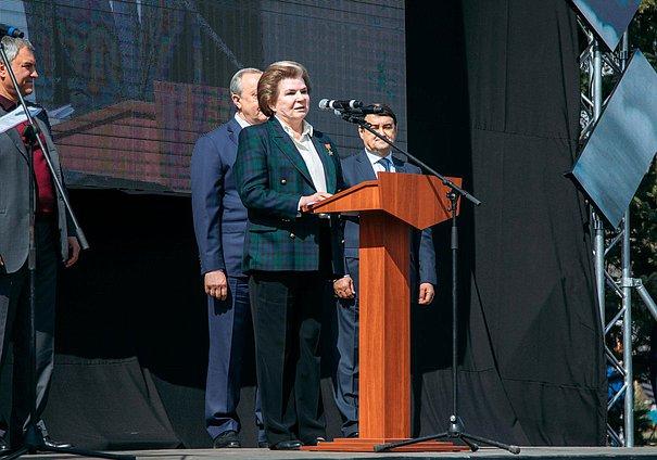 Заместитель Председателя Комитета пофедеративному устройству ивопросам местного самоуправления Валентина Терешкова